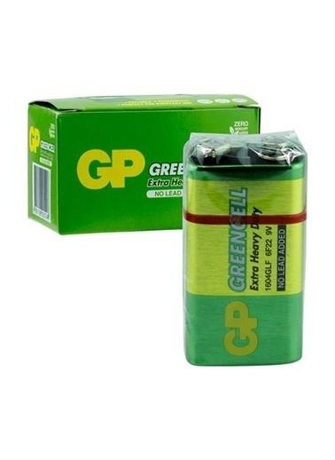 GP Gp 1604G-B Greencell 9V Pil 10'Lu Renksiz